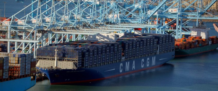 Mega-ship due into the Port of Long Beach this week